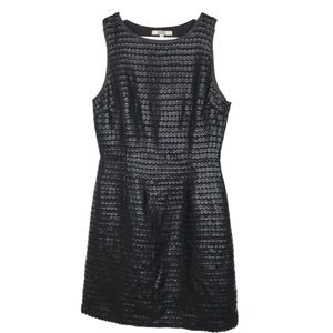 BB Dakota Black Cutout Sleeveless Dress Size L